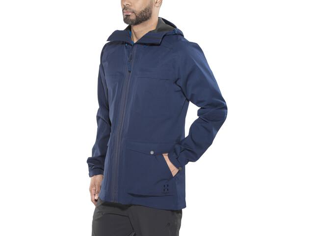 Haglöfs Eco Proof Jacket Herre tarn blue